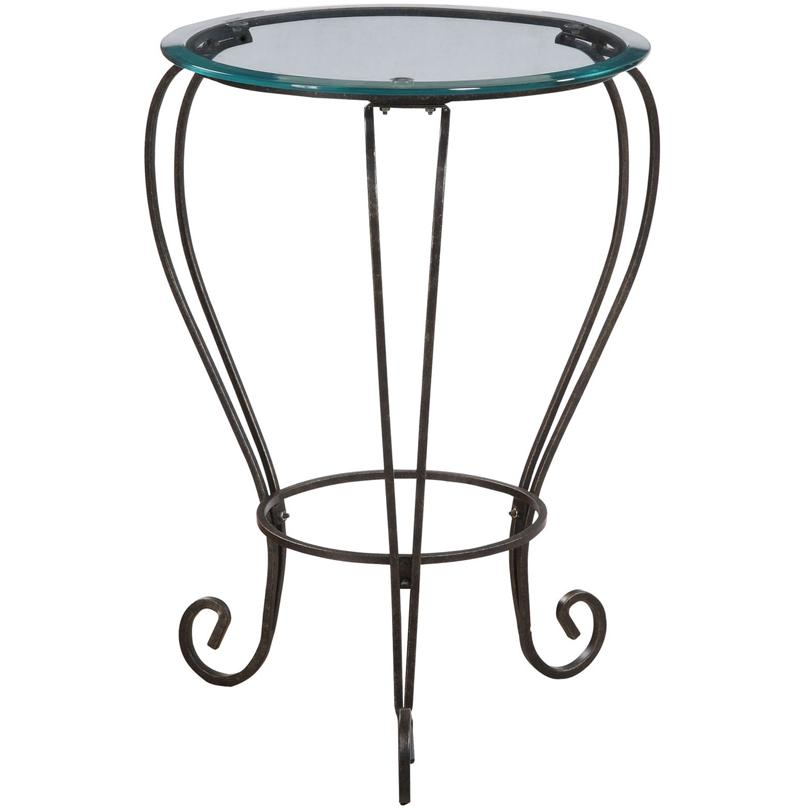 Powell Furniture - Garden District Bronze/Gold Accent Table - 935-269