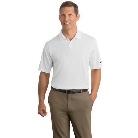 Nike Golf Dri-FIT Pebble Texture Polo Shirt Medium - White 2671218
