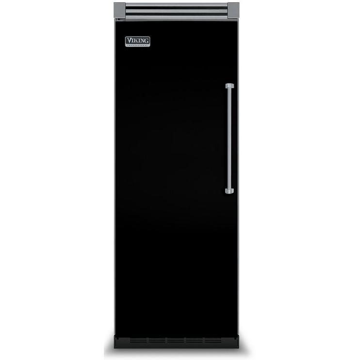Viking VCFB530L 15.9 Cu. Ft. Capacity Professional Series Built In Left Hinge Freezer - Black