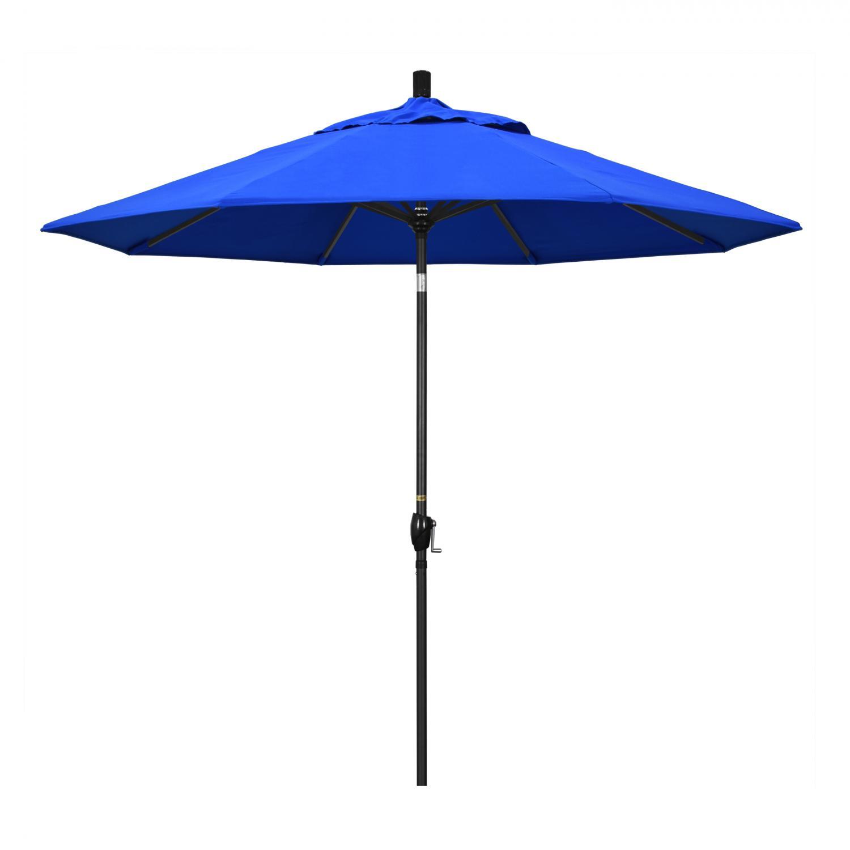 California Umbrella 9 Ft Octagonal Aluminum Push Button T...