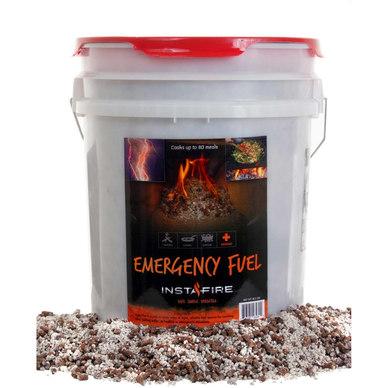 Insta-Fire Fire Starter & Emergency Cooking Fuel - 5 Gallon Bucket