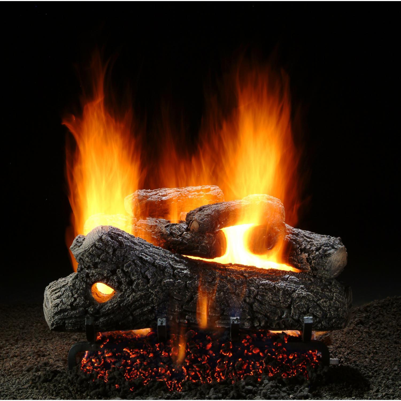 Lp Gas Fireplace Logs emberglow oak 24 in vent free