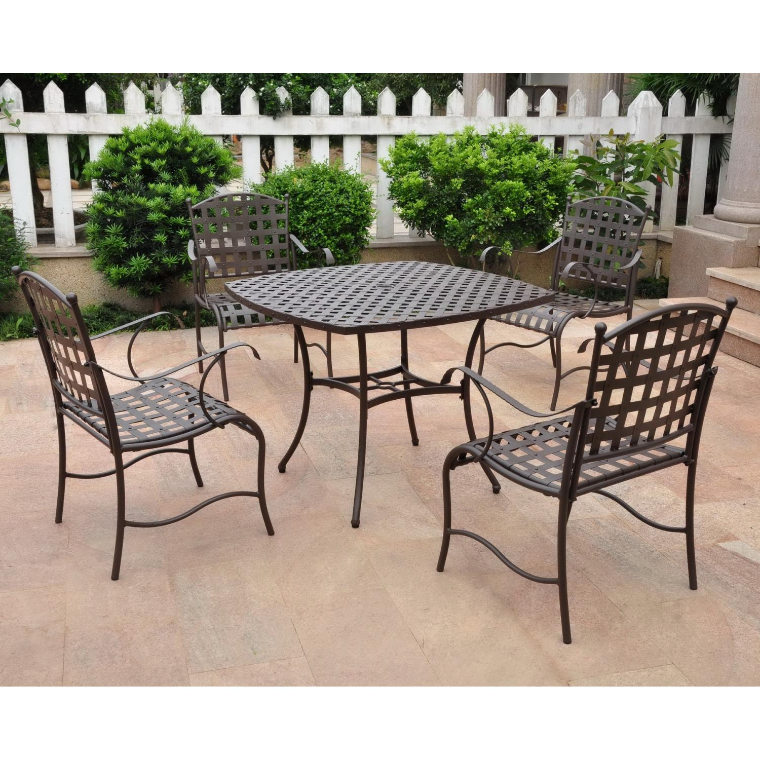 Dining Room Furniture Table Chair Wrought Iron Tables Chairs