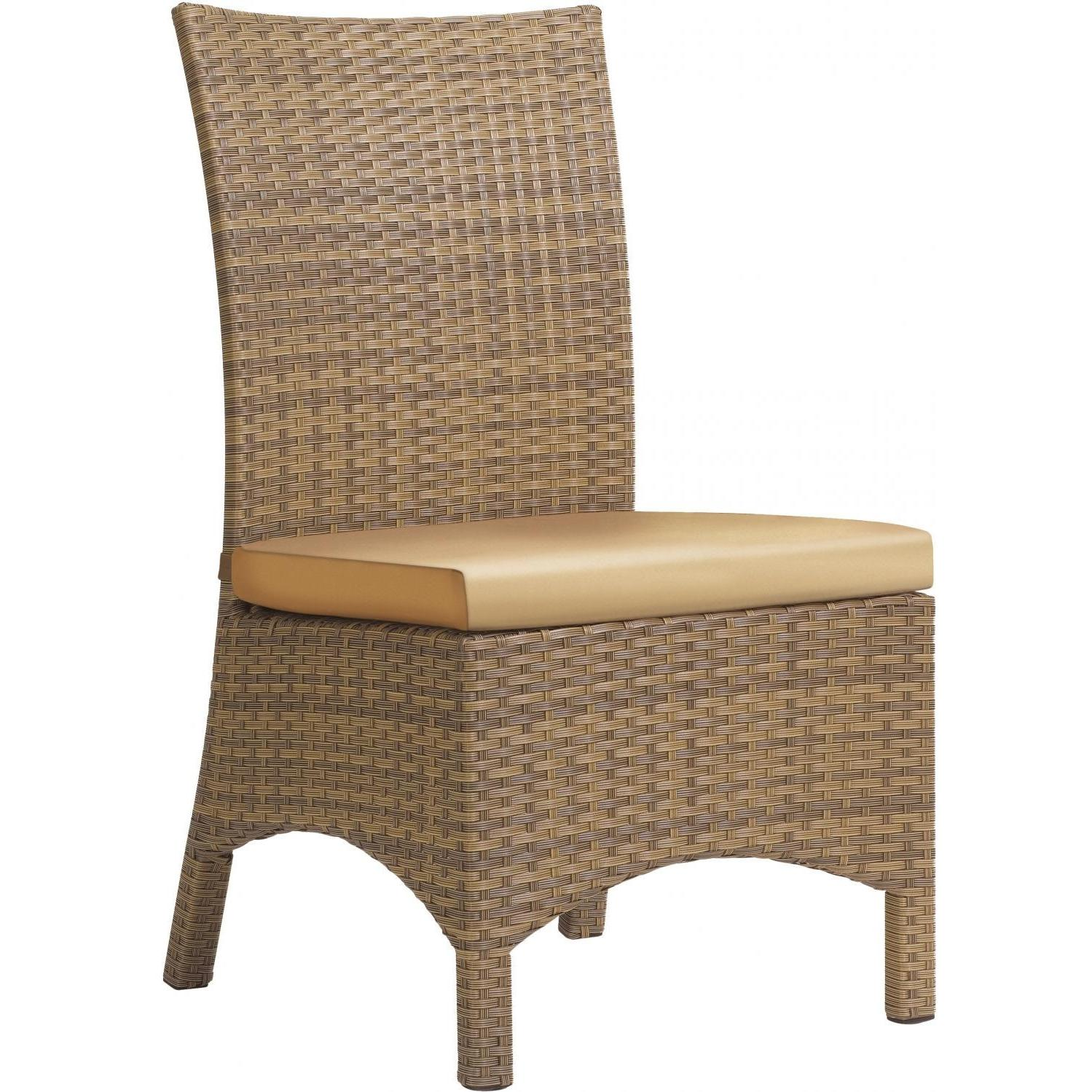 Marvelous photograph of International Caravan Trinidad Wood Patio Dining Chair U.S.A. & Canada  with #926F39 color and 1499x1499 pixels