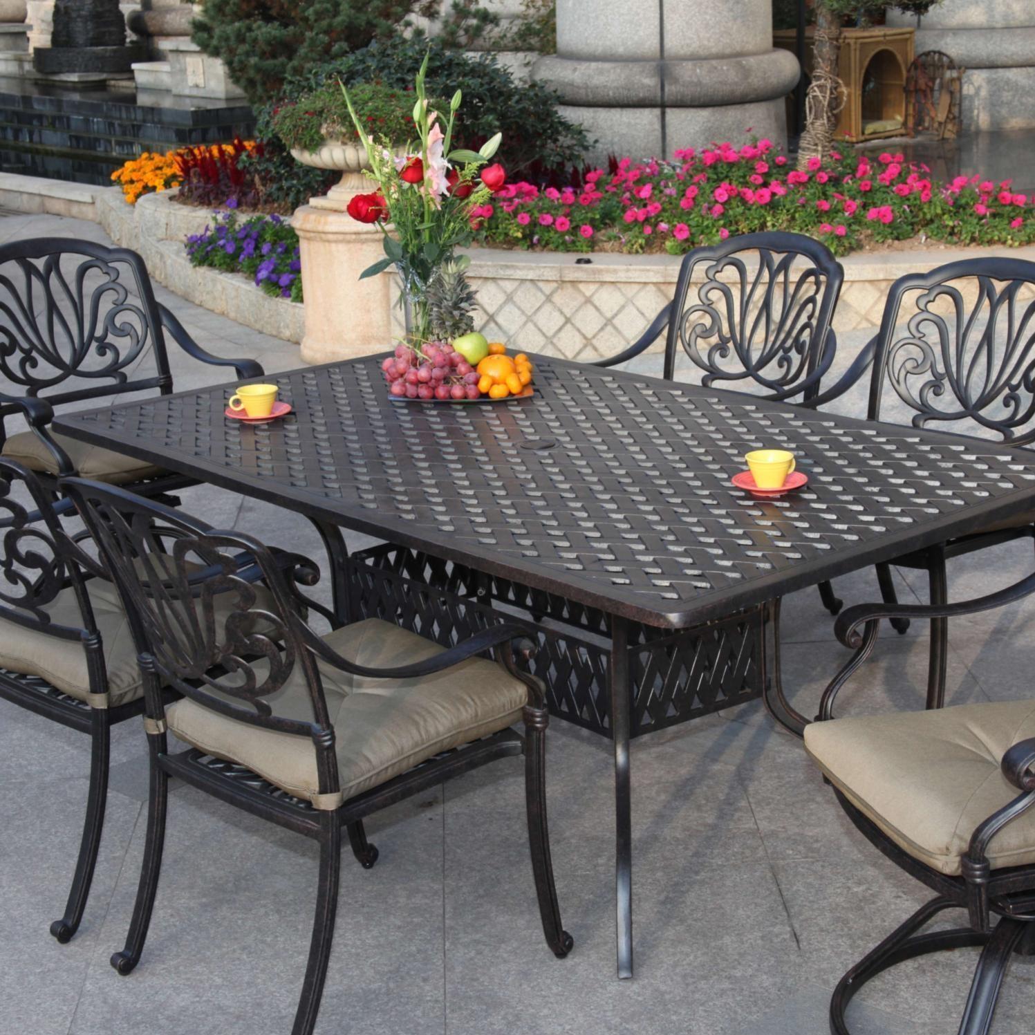 patio dining sets online discount darlee elisabeth cast aluminum patio