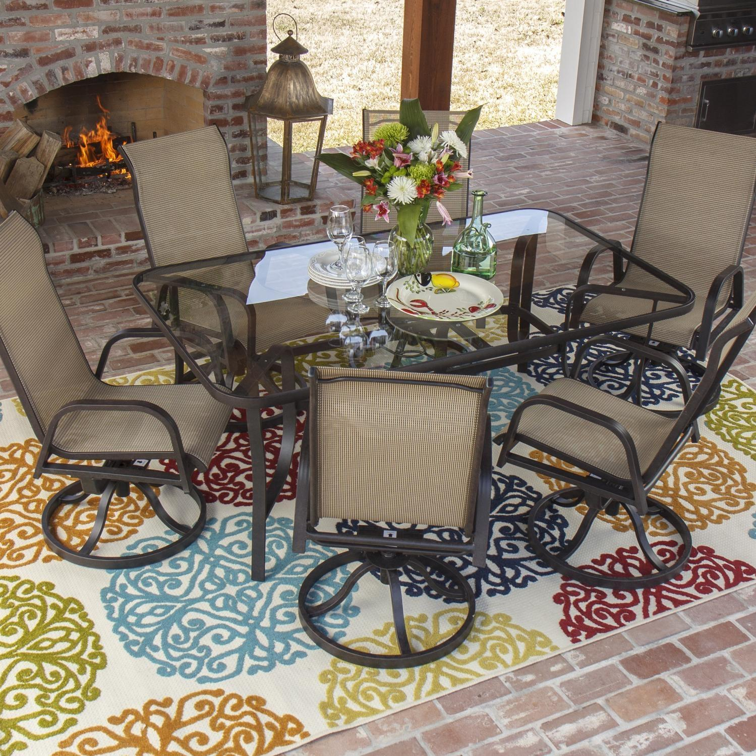 Price outdoor greatroom company napa valley propane fire pit table