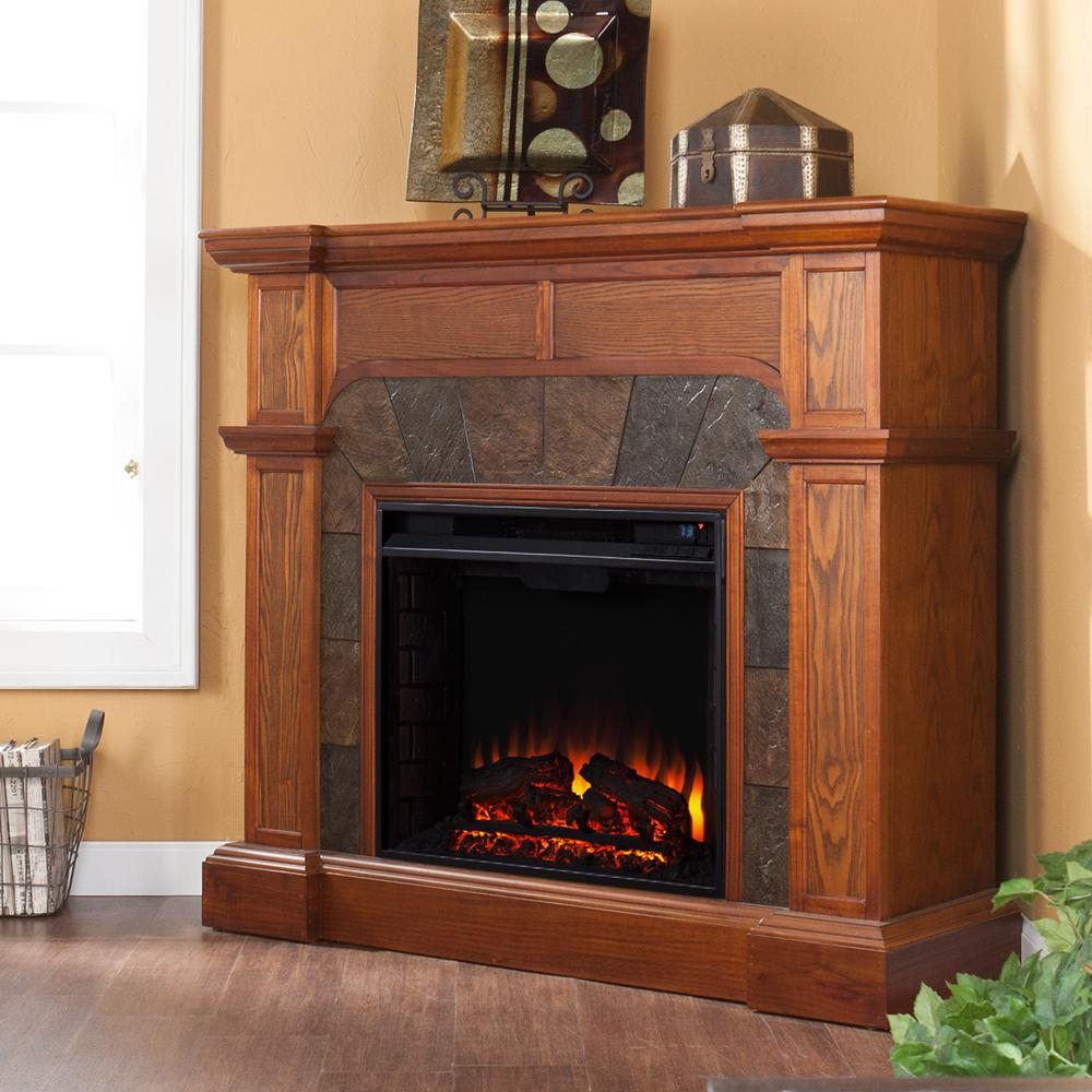 Southern Enterprises Cartwright 45-Inch Electric Fireplac...