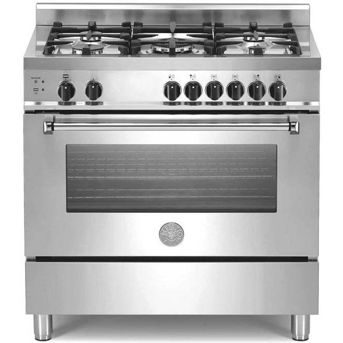 Bertazzoni A365GGVXE 36 Inch Natural Gas 4.0 Cu. Ft. Stainless