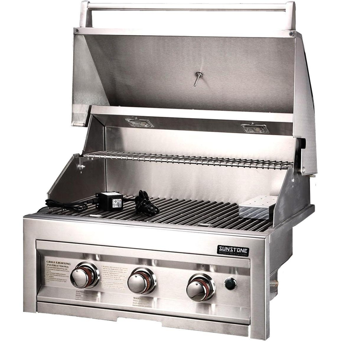 sales for sunstone grills 28 inch 3 burner natural gas grill prices price llhowrll. Black Bedroom Furniture Sets. Home Design Ideas