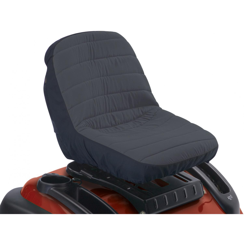 Classic Accessories Tractor Seat Cover - Black/Grey - Medium