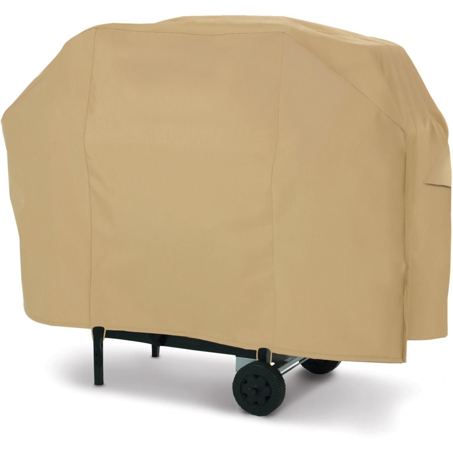 Classic Accessories Terrazzo Cart BBQ Cover - Sand - Large