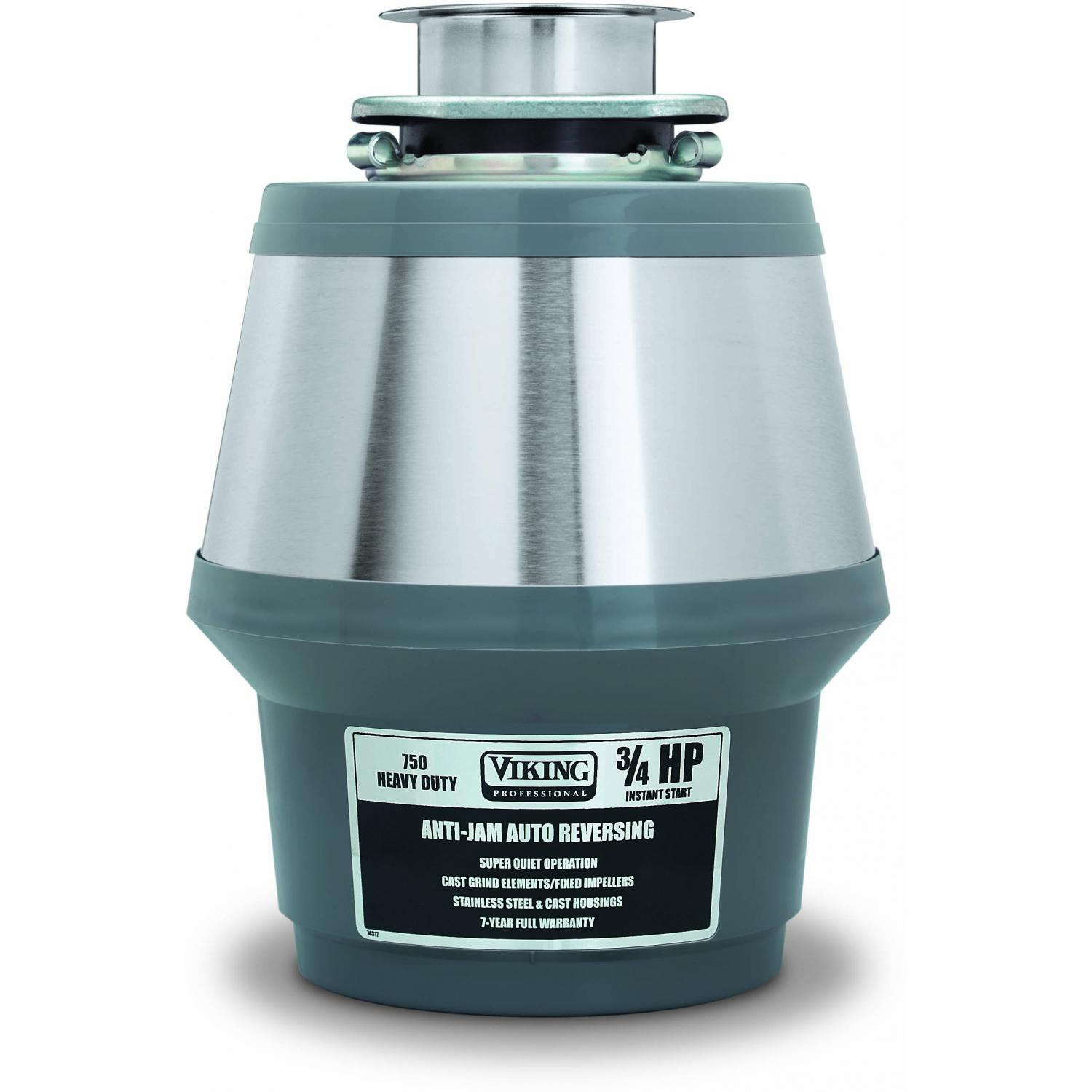 Viking VCFW750 3/4 HP Continuous Feed Food Waste Disposer