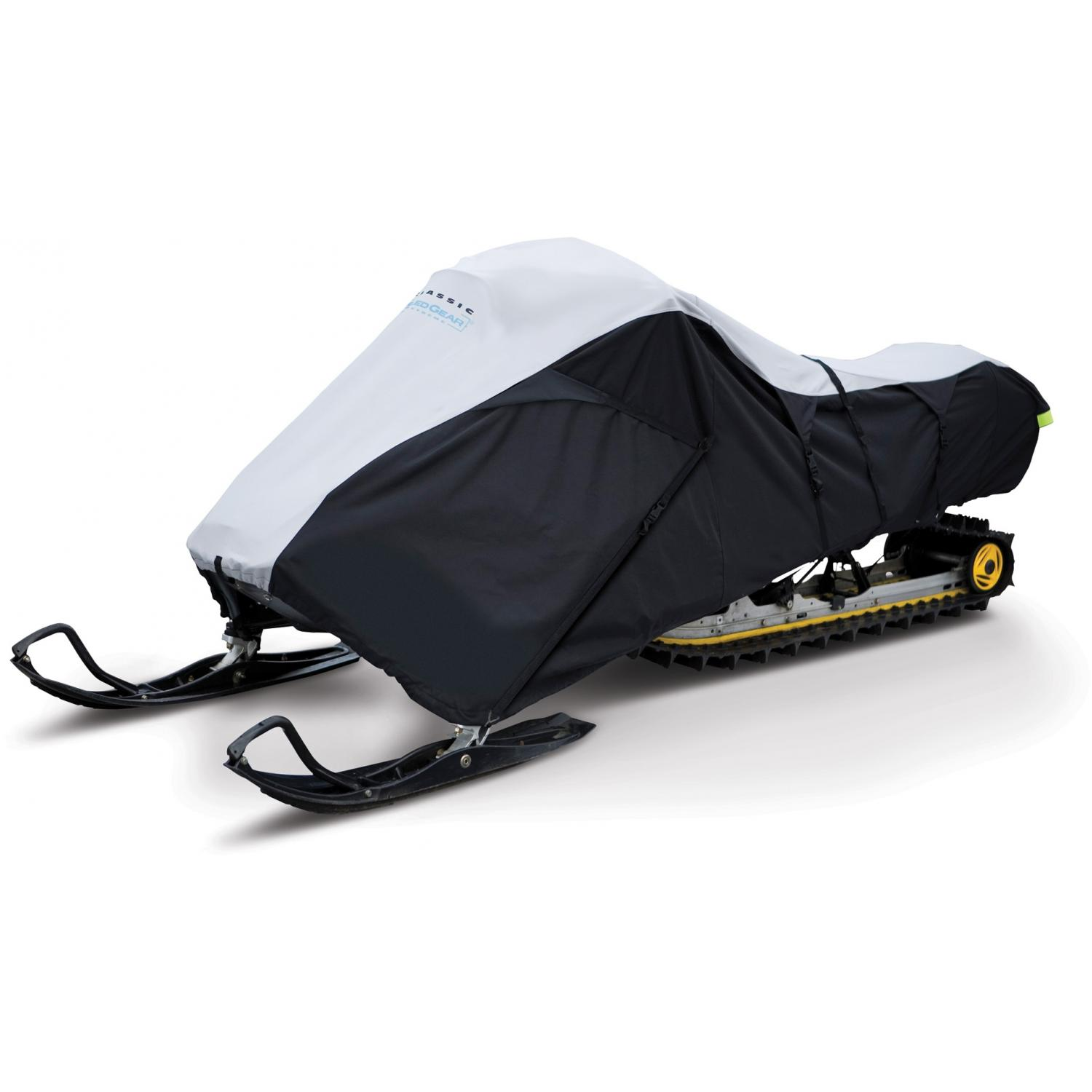Classic Accessories SledGear Deluxe Snowmobile Travel Cover - Black/Grey - Medium