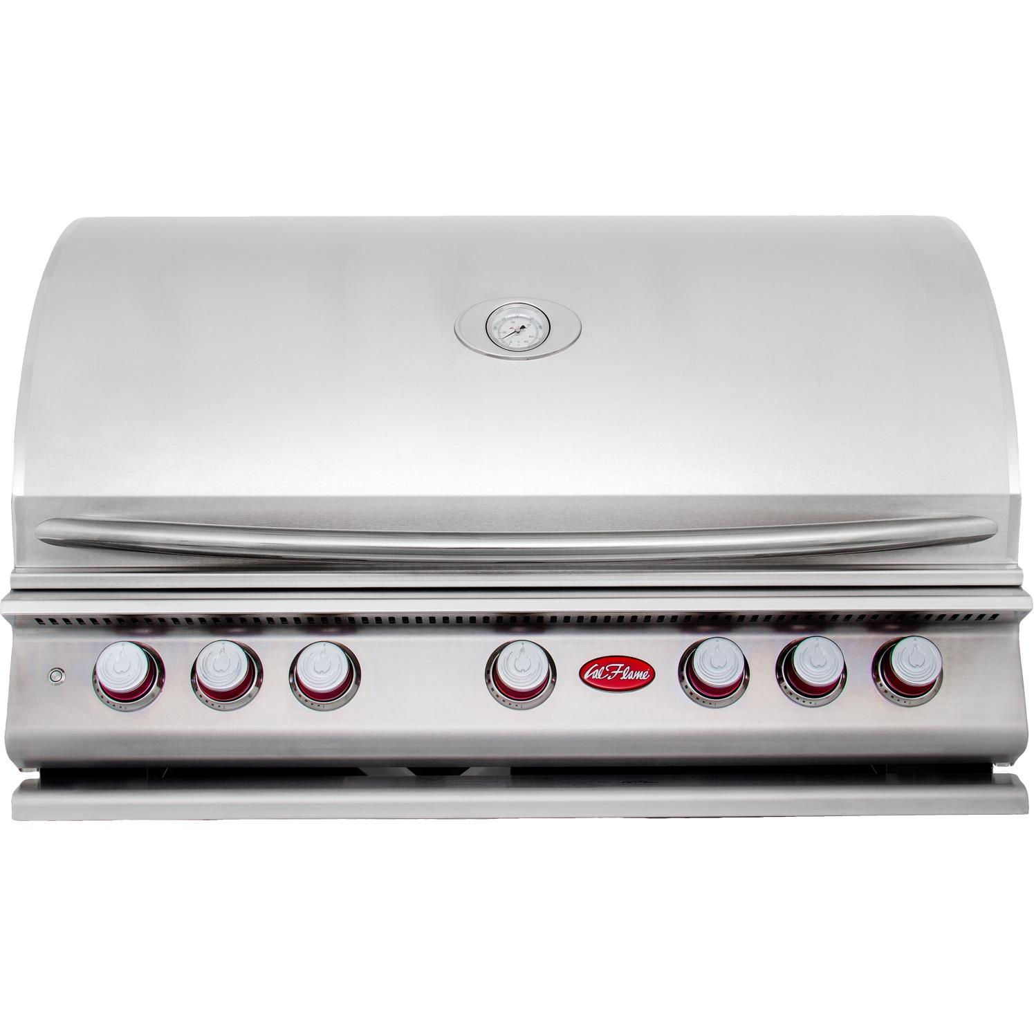 Cal Flame P5 39-inch 5-burner Built-in Natural Gas Grill (ships As Propane With Conversion Fittings) - Bbq13p05