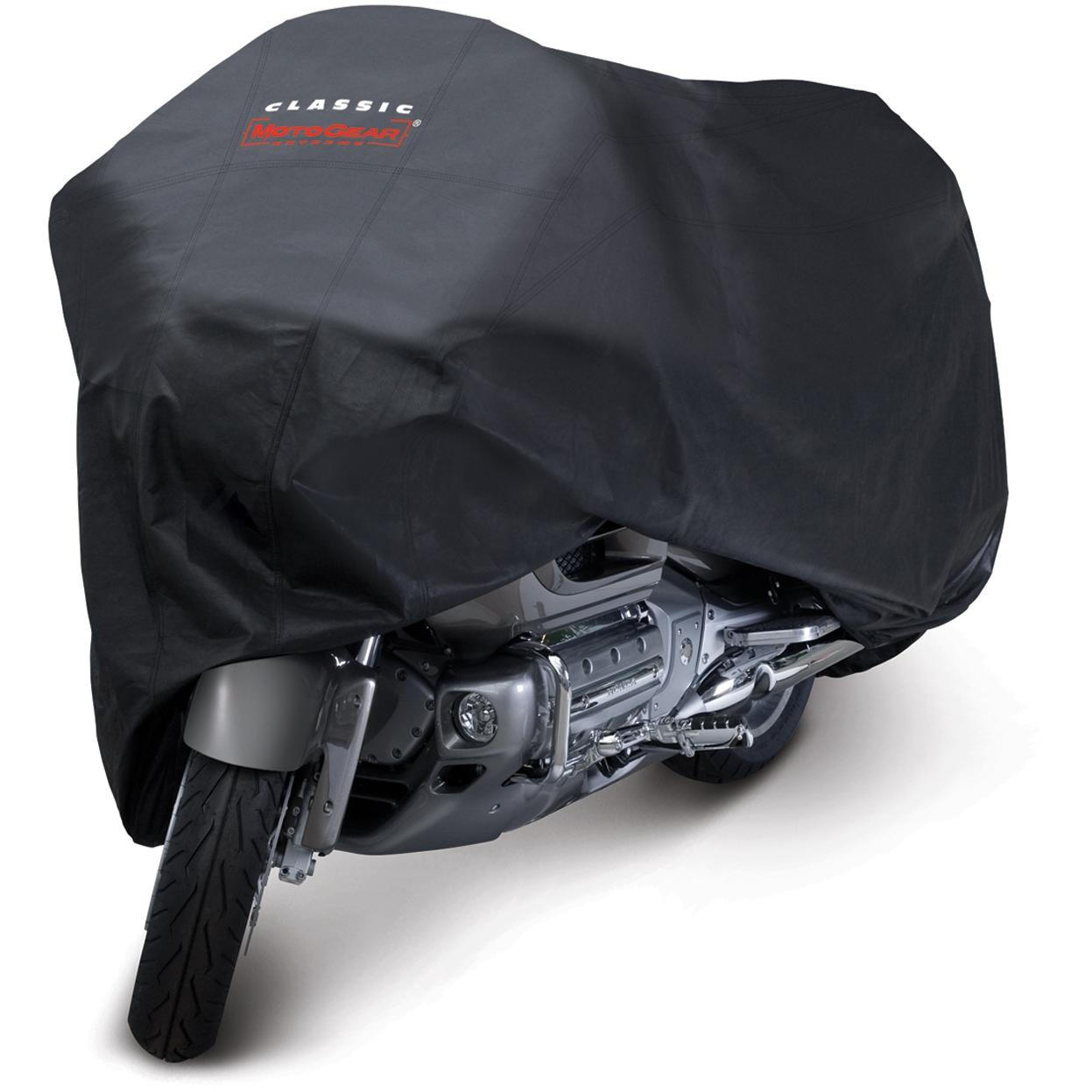 Classic Accessories MotoGear Motorcycle Dust Cover - Black - Touring