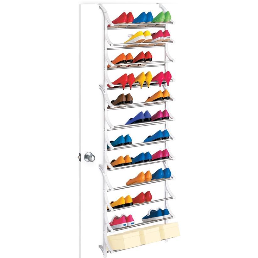 Lynk 36 Pair OverDoor Shoe Rack - 1457036DS