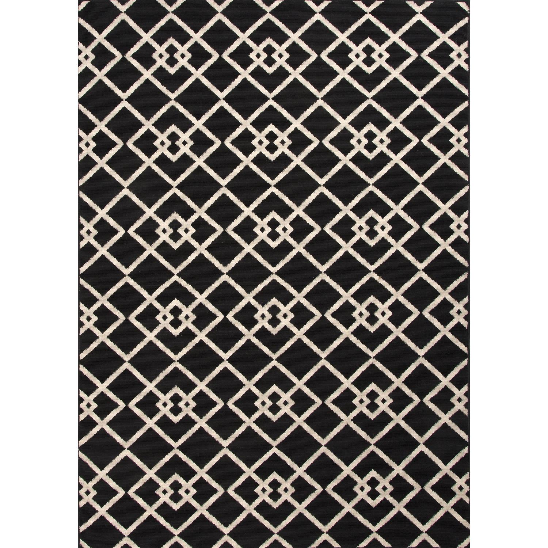Picture of Jaipur Rugs Patio Zhane 2 X 37 IndoorOutdoor Rug - BlackIvory