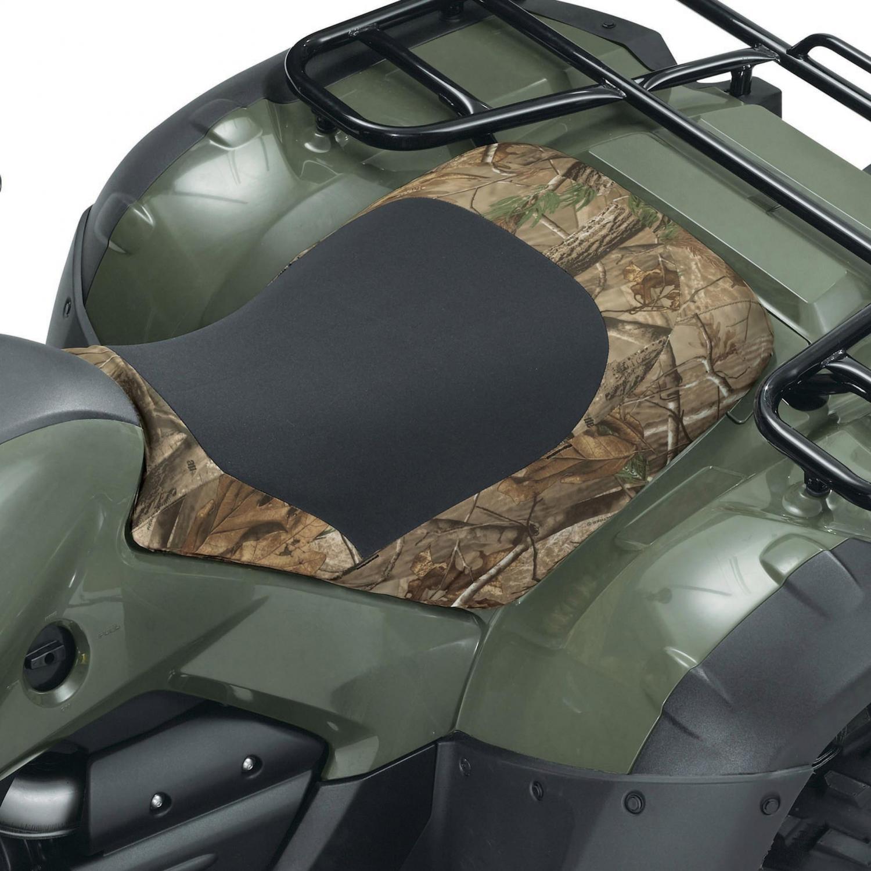 Classic Accessories Quadgear Deluxe Atv Seat Cover - Realtree Ap Camo