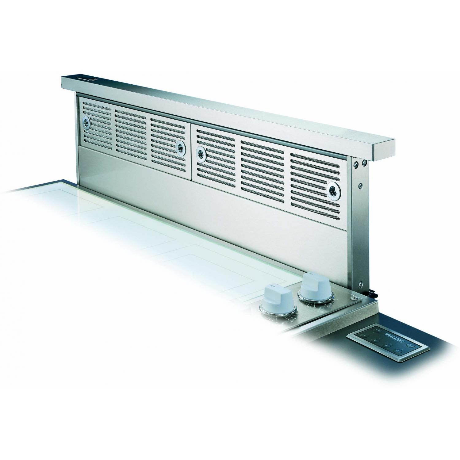 Viking VIPR102R 30-Inch Professional Series Stainless Steel Rear Downdraft Vent System W/ Mounted Controls