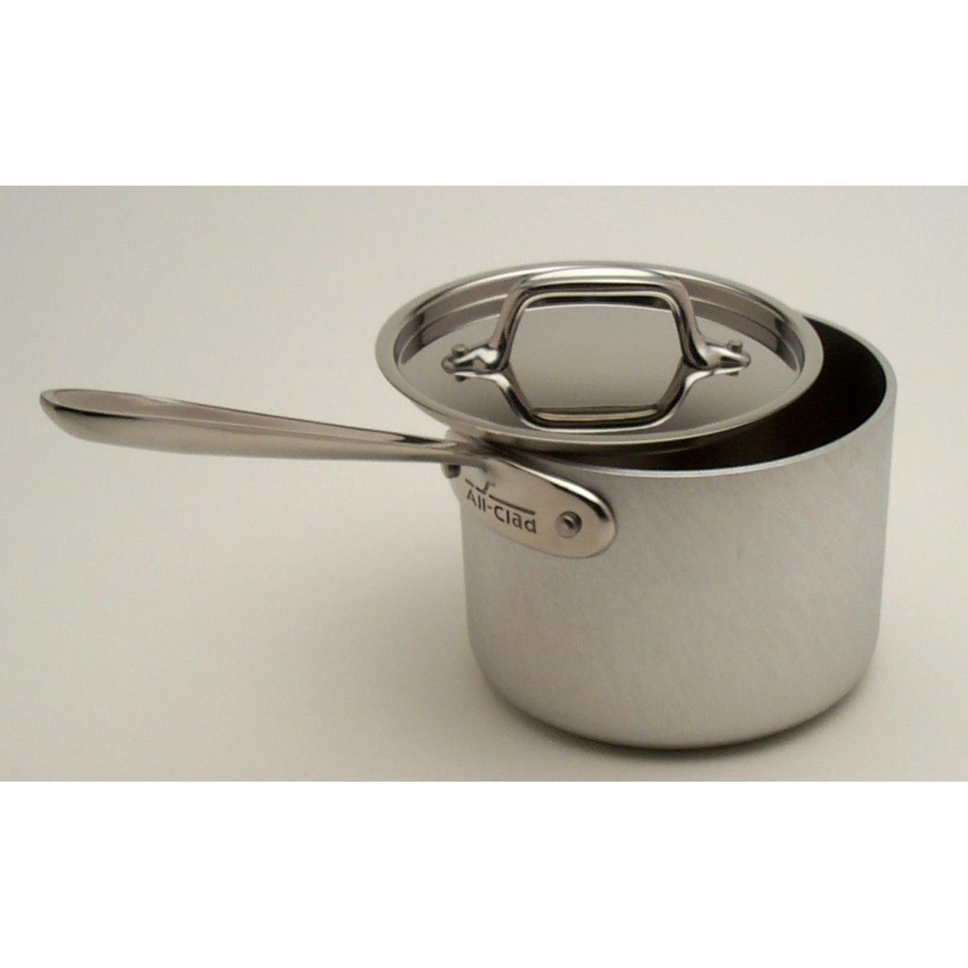 All-Clad MC2 Stainless 1.5-Quart Sauce Pan With Lid