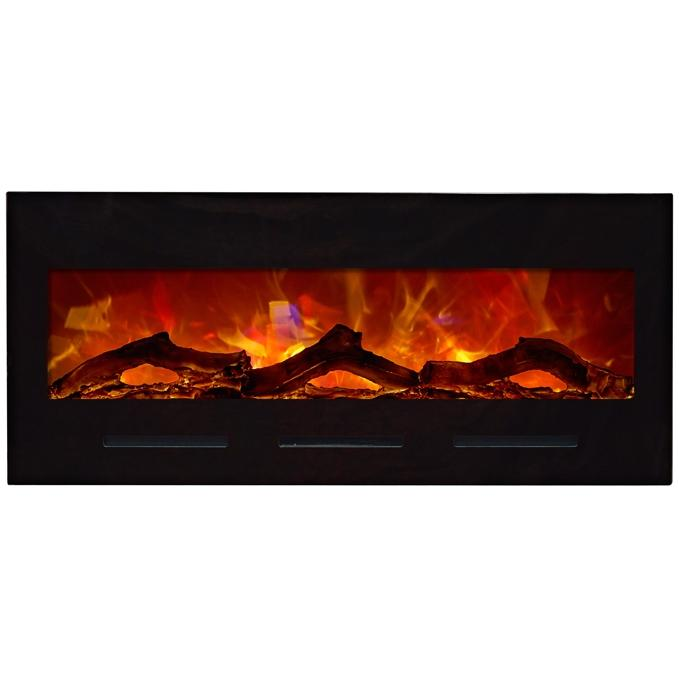 Amantii 50-inch Built-in Flush Mount Electric Fireplace - Bi-50-flushmt