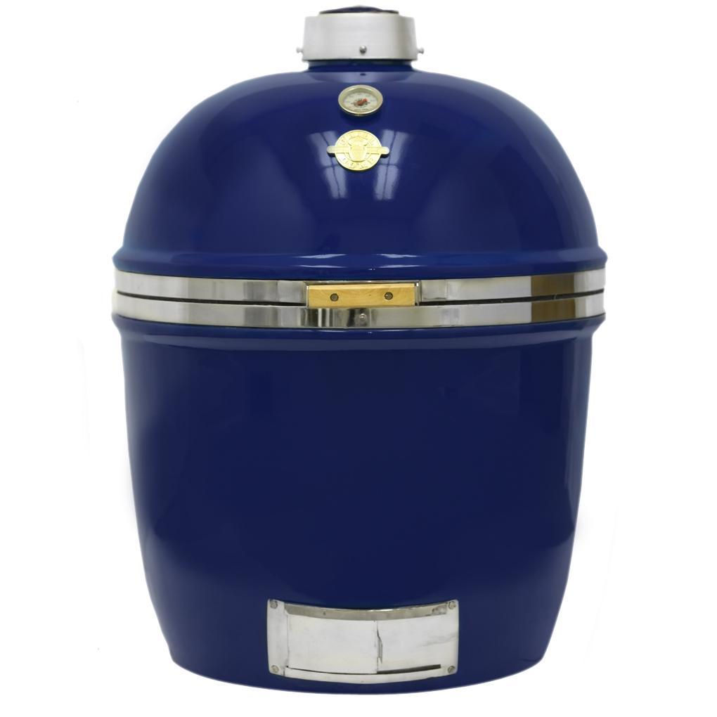 Grill Dome Infinity Series XL Kamado Grill - Blue, Discount ID GDXL-BL