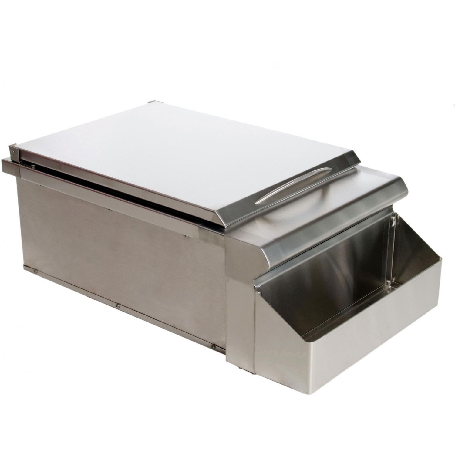 Bbq Guys 15 Inch Ice Bin Bar Cooler With Bottle Holder at Sears.com