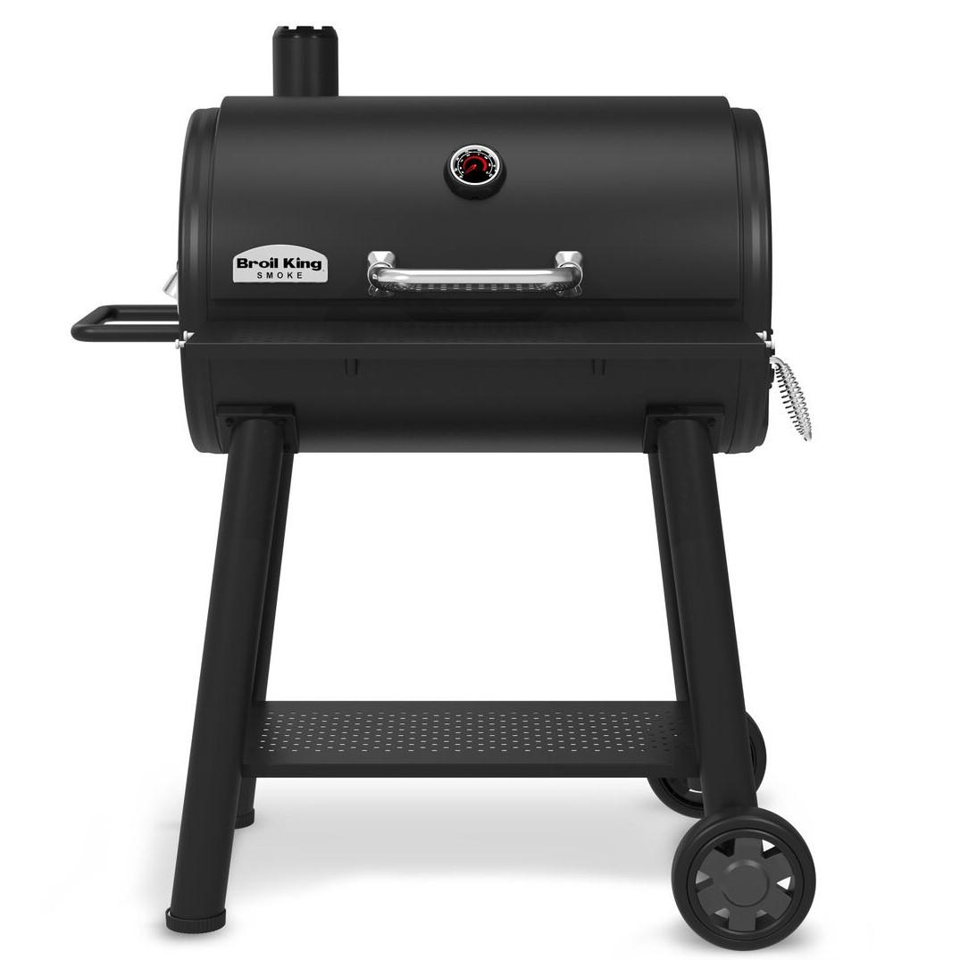 Broil King Smoke XL 32 Inch Charcoal Smoker - Black - 948050