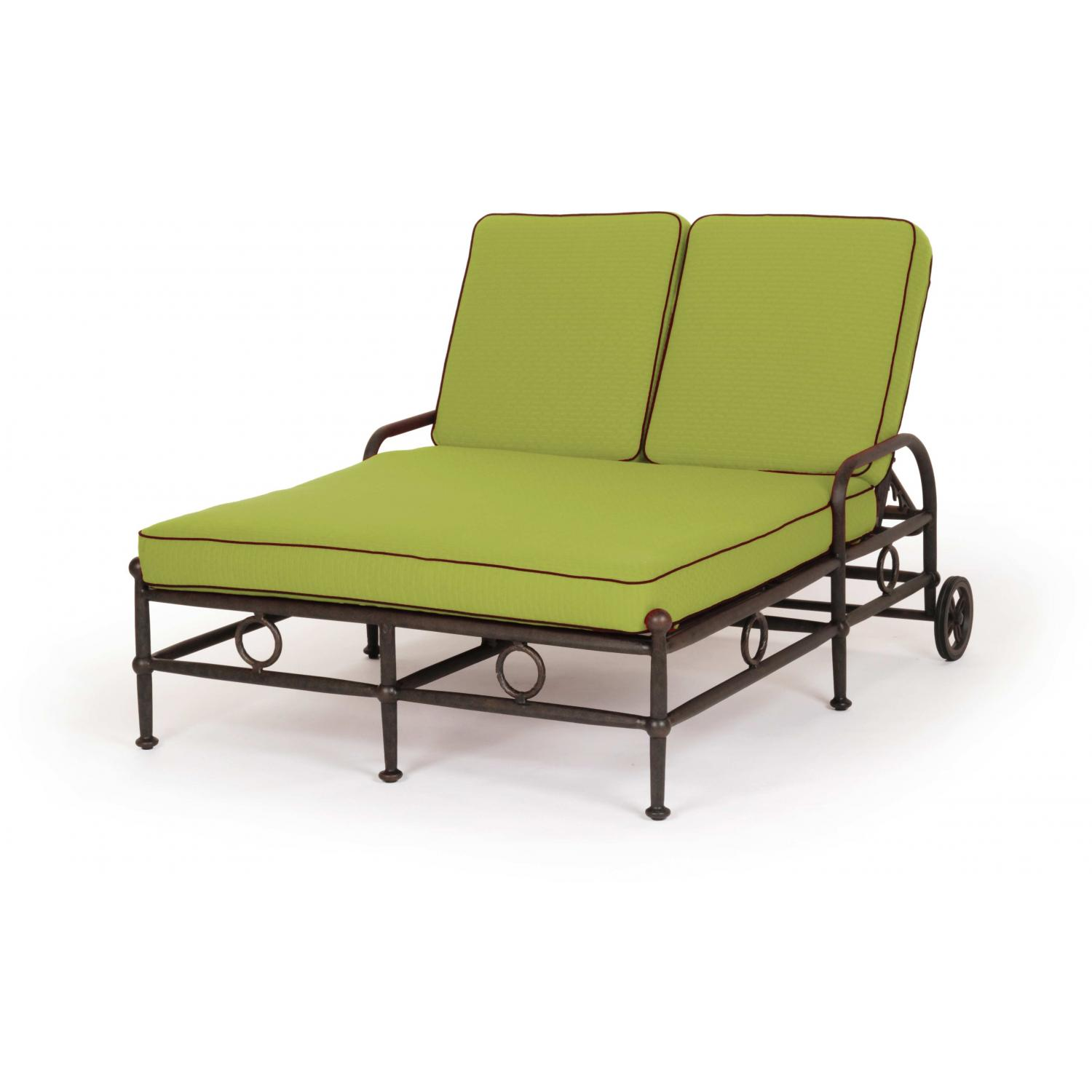 Caluco Origin Aluminum Double Chaise Lounge
