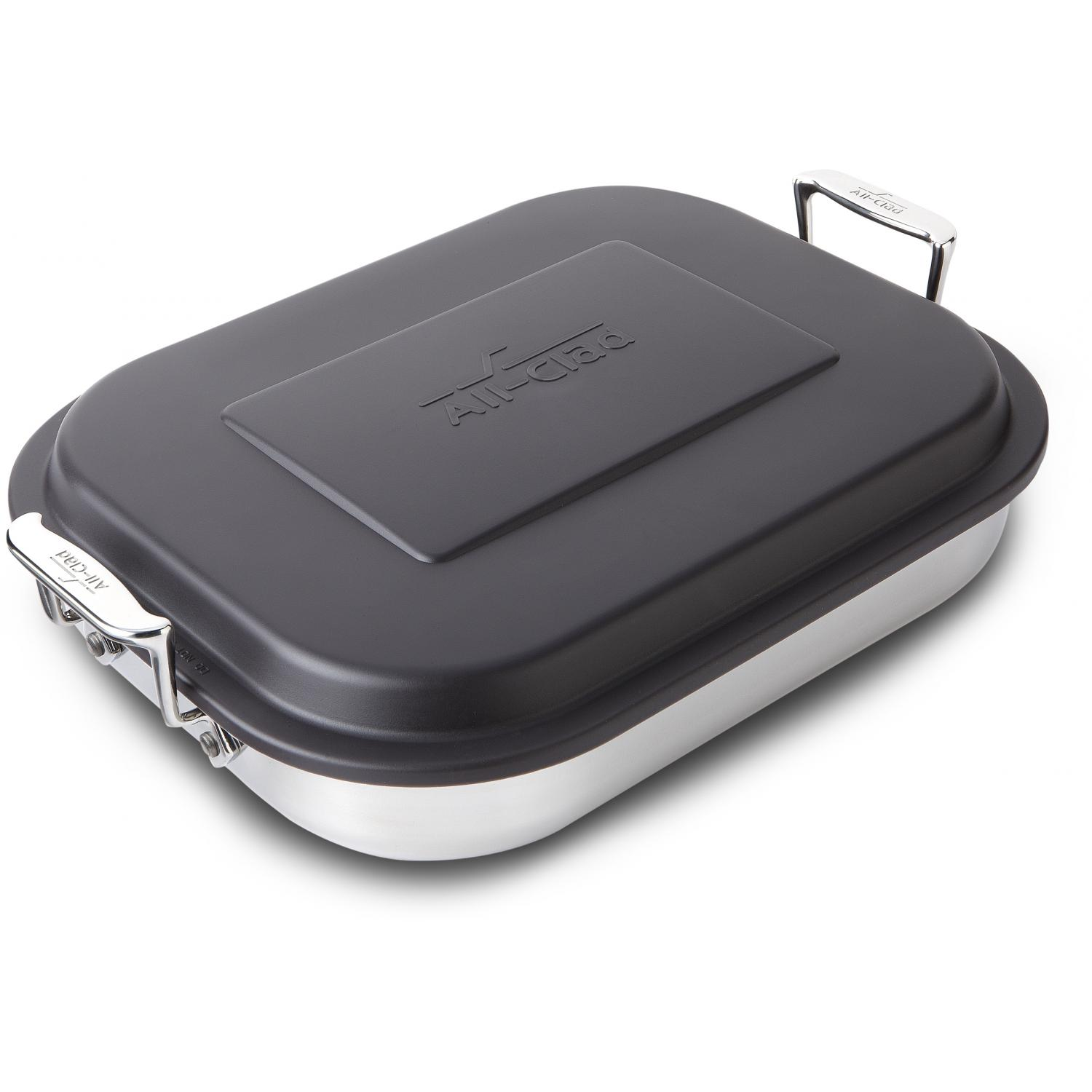 All-Clad Stainless Lasagna Pan With Lid
