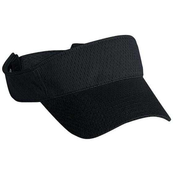 Cobra Caps Mesh Visor - Black