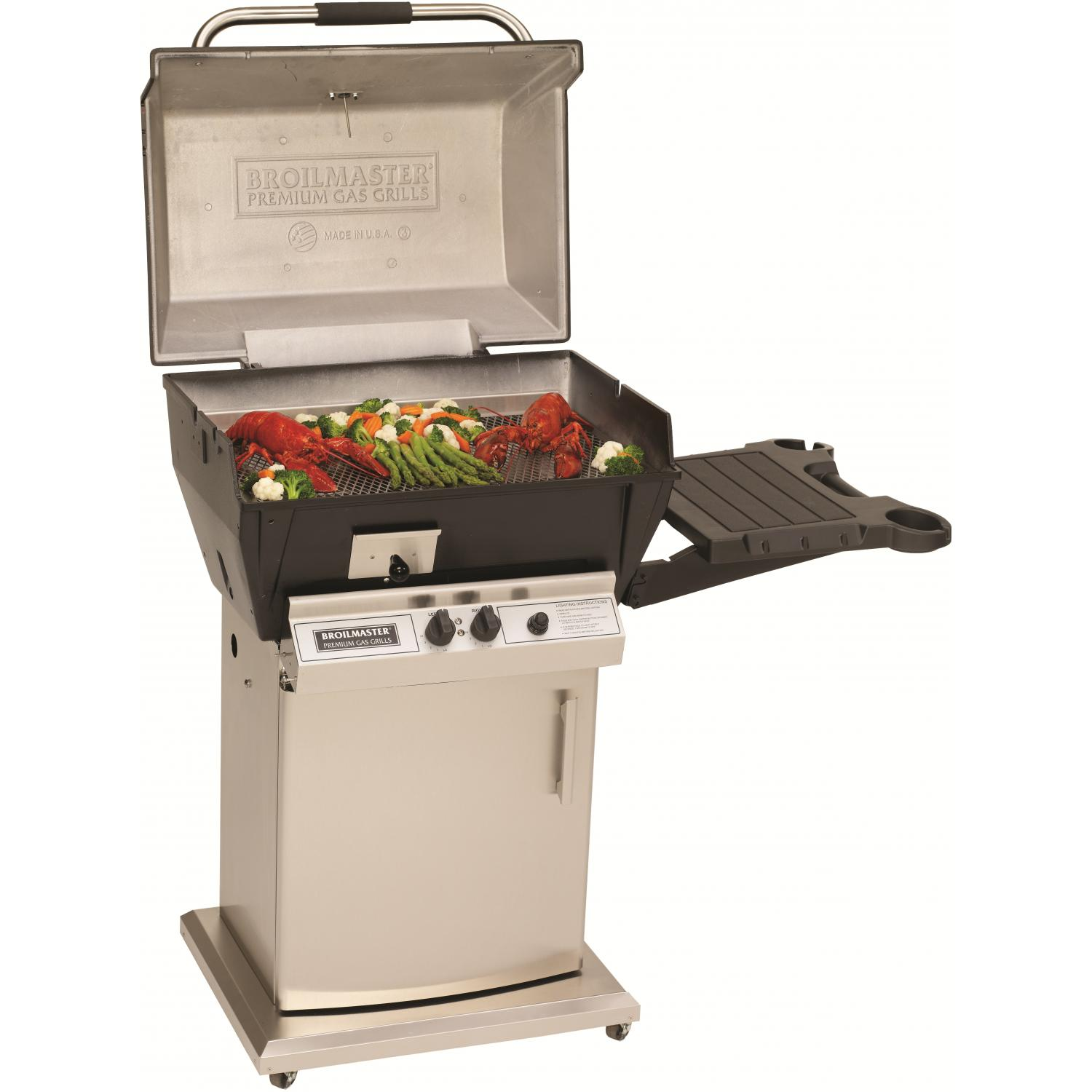deals broilmaster q3x qrave natural gas grill on stainless. Black Bedroom Furniture Sets. Home Design Ideas