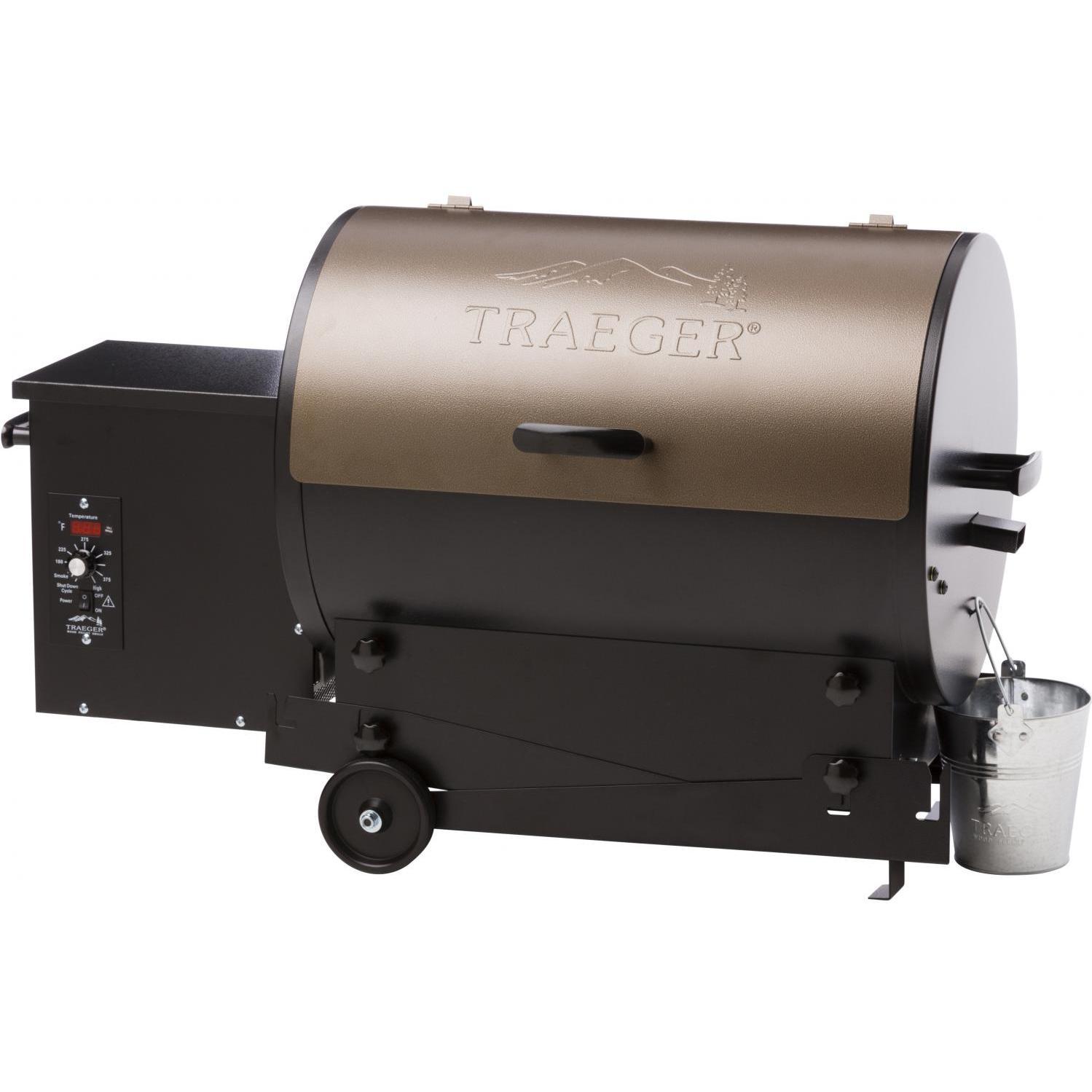 Traeger Tailgater Portable Wood Pellet Grill - Bronze