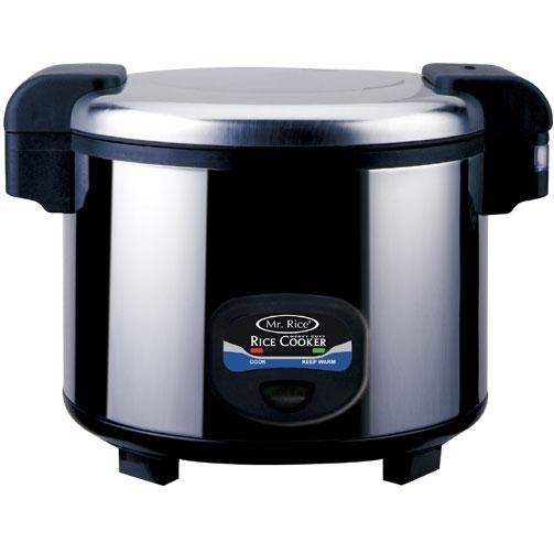 Sunpentown 35 Cups Stainless Steel Heavy Duty Rice Cooker - SC-5400S