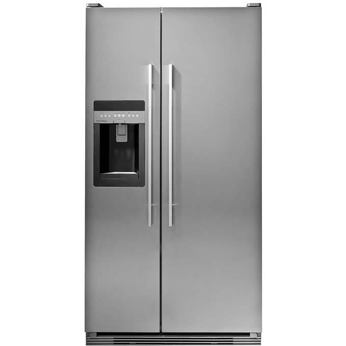Fisher Paykel RX216DT7XV2 21.6 Cu. Ft. Capacity Side By Side Refrigerator - Stainless Steel
