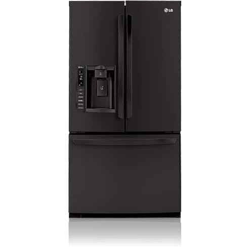 LG LFX25976SB 25 Cu. Ft French Door Refrigerator / Freezer With Ice & Water Dispenser - Black