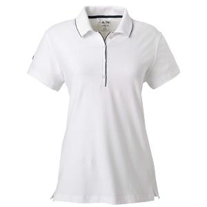 Adidas Golf Ladies ClimaLite Tour Jersey Short Sleeve Polo Shirt 2XL - White/Navy