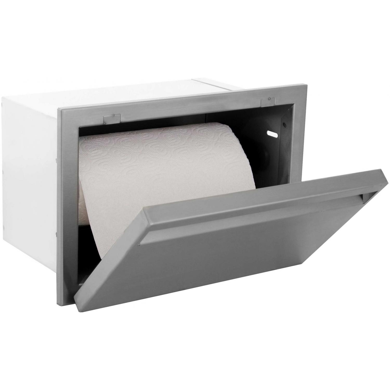 Picture of BBQGuyscom Aspen Series Built-In Stainless Steel Paper Towel Dispenser