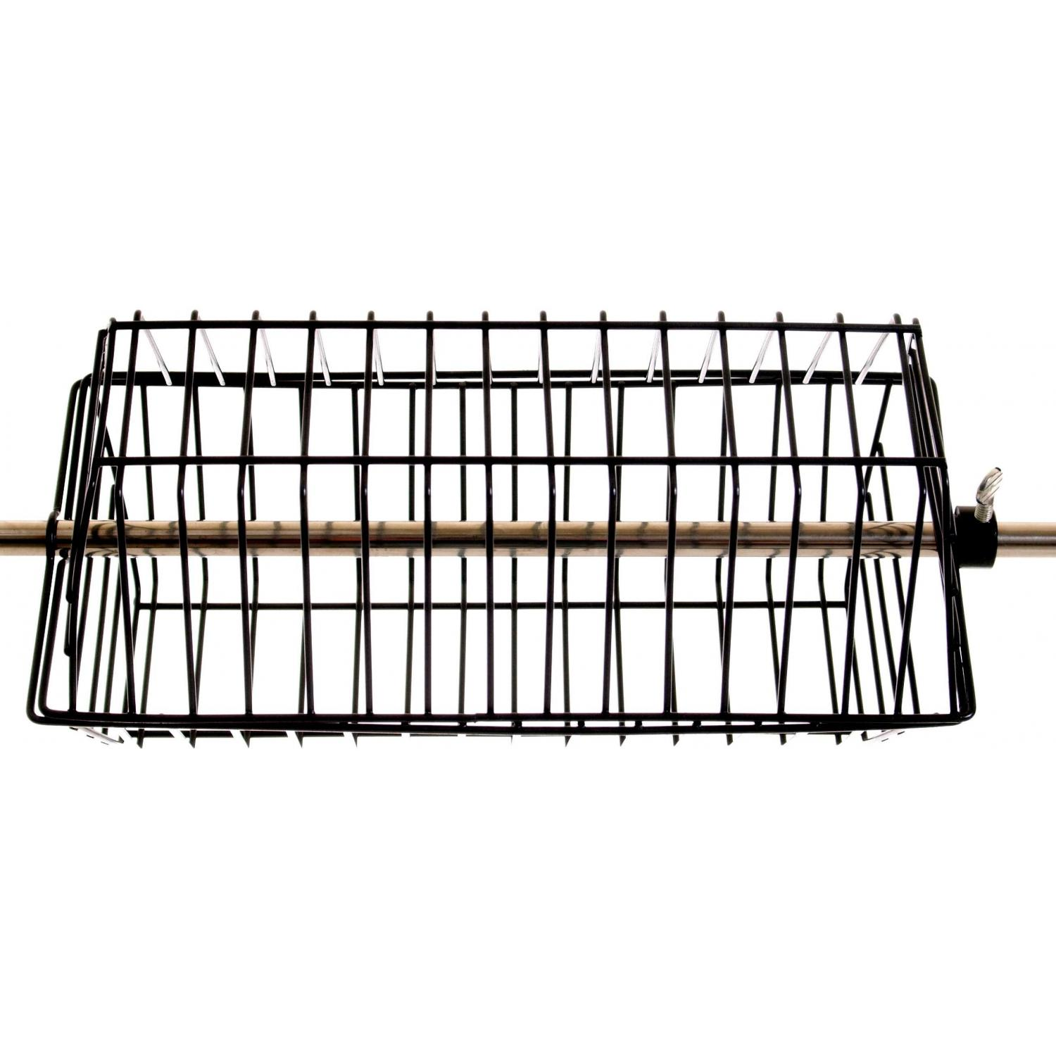Deluxe Non-Stick Chicken And Rib BBQ Tumble Basket 386
