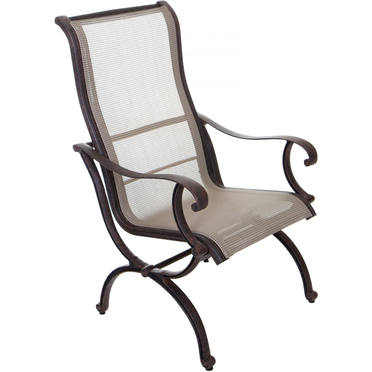 Lombardy Sling Patio Dining Chair