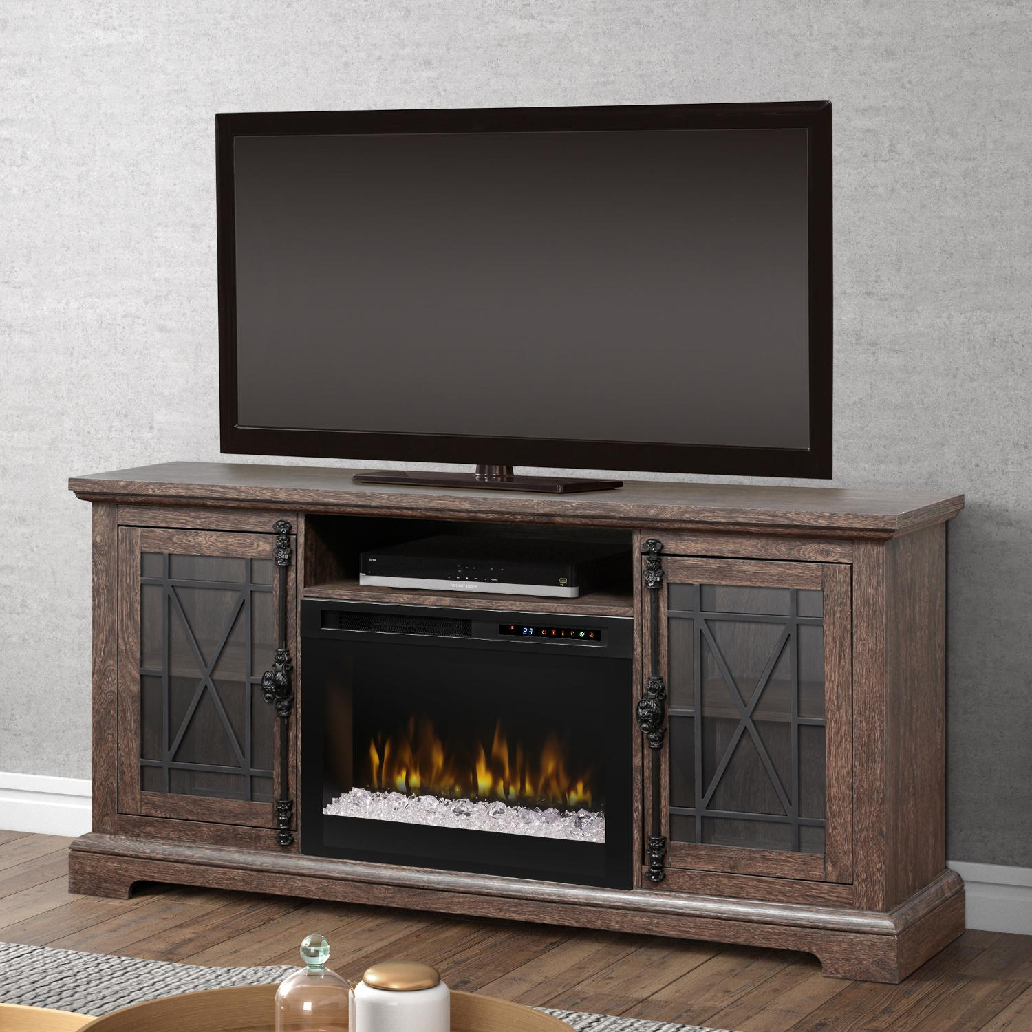 Dimplex Multi-Fire XHD Natalie 66-Inch Electric Fireplace...