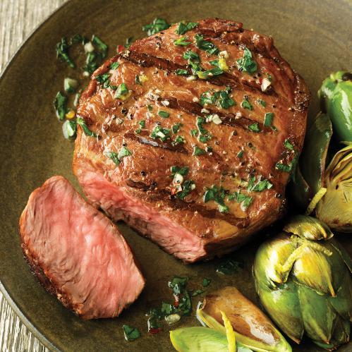 Premium Angus Beef - 8 (6oz) Top Sirloins By Chicago Steak Company 2902884