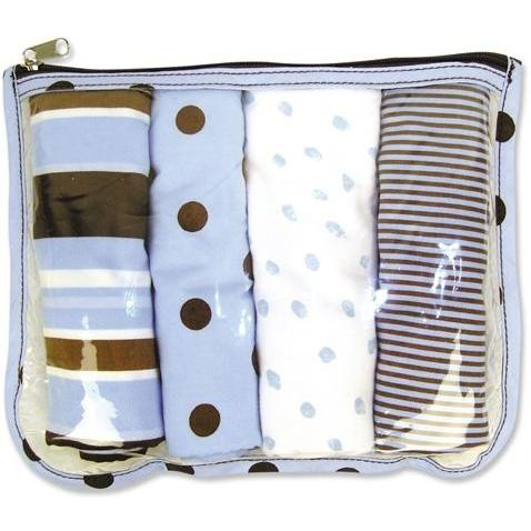Trend Lab Burp Cloth And Pouch Gift Set - Max
