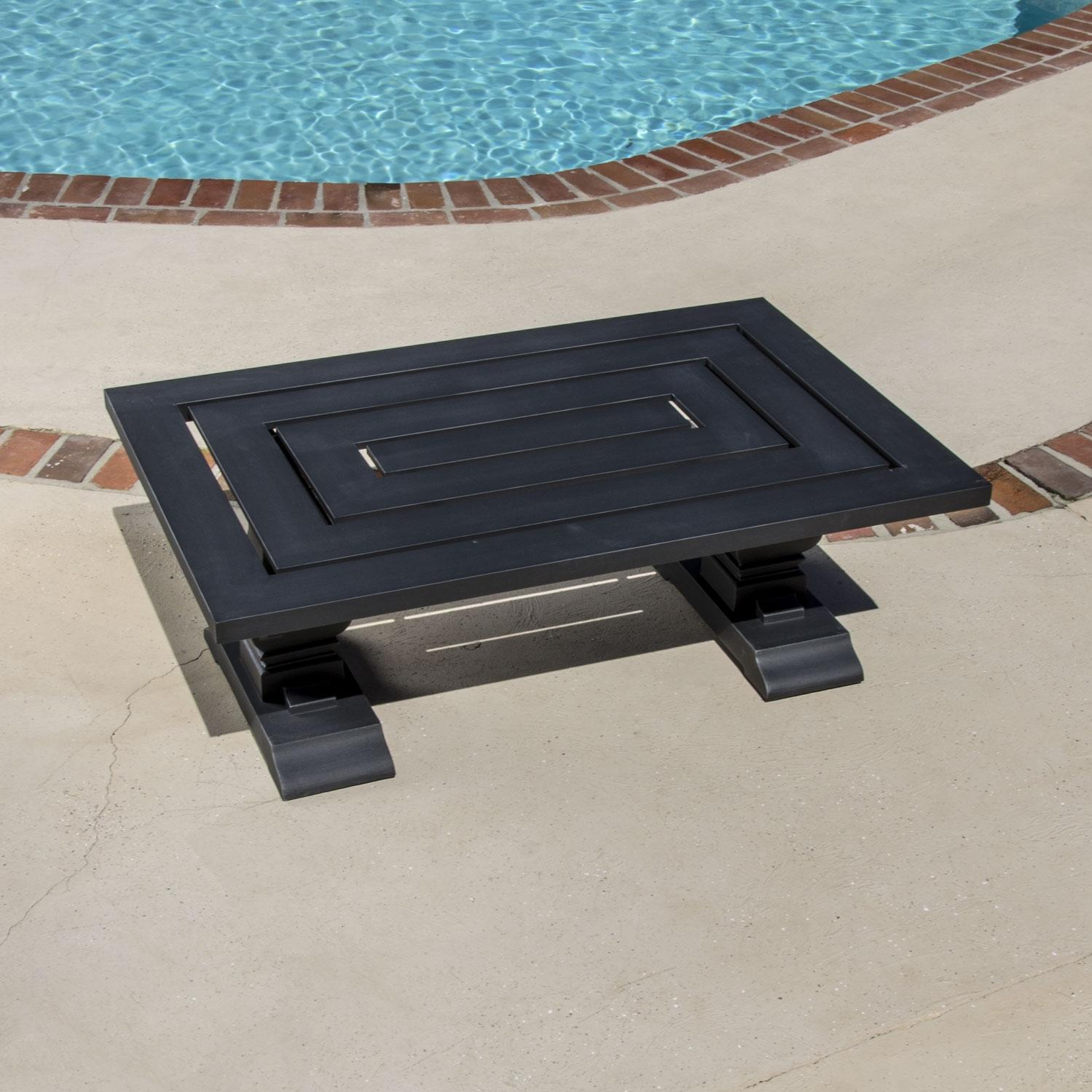 Lakeview Outdoor Designs St. Charles Cast Aluminum Patio Coffee Table at Sears.com