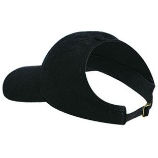 Otto Cap Brushed Cotton Twill Low Profile Pro-Style Ponytail Cap - Black