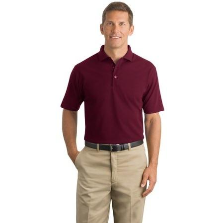 CornerStone Industrial Pique Polo 2XL - Burgundy