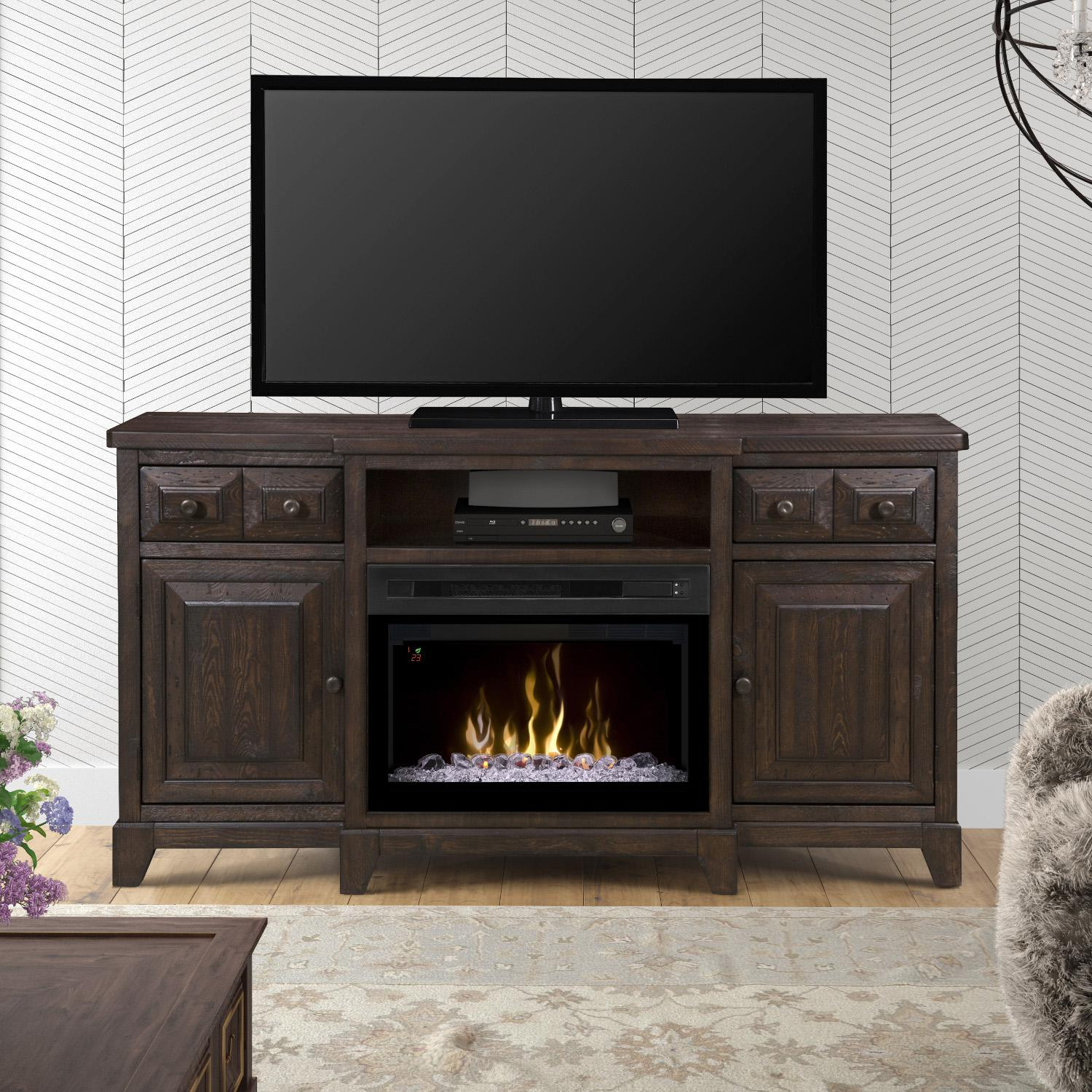 Dimplex Multi-Fire XD Heinrich 66-Inch Electric Fireplace...
