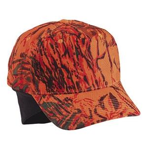 Cobra Caps Cotton Twill Cap With Hideable Ear Flaps - OFT