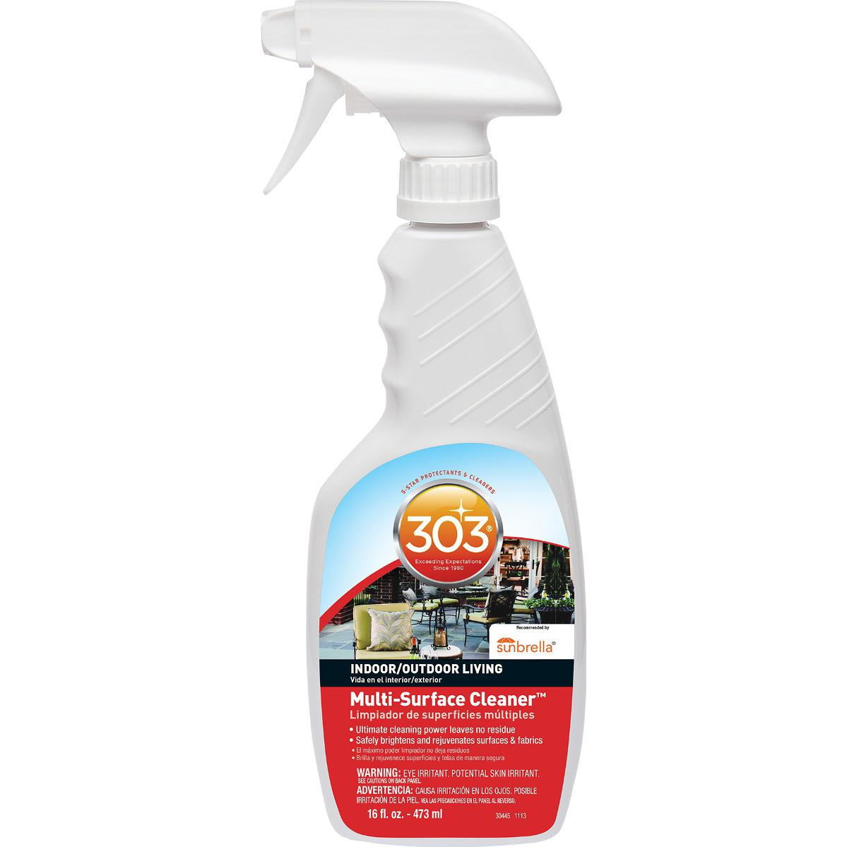 303 Indoor And Outdoor Multi-surface Cleaner - 16 Oz.
