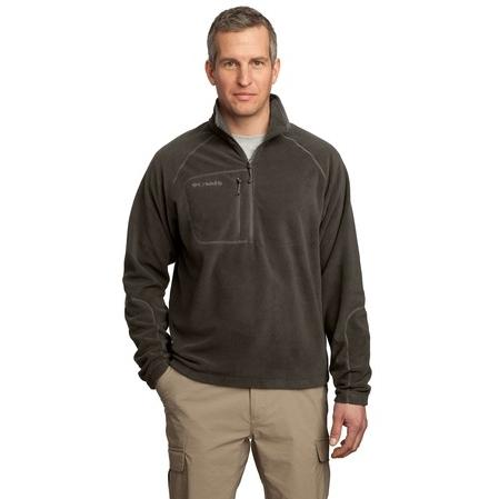 Columbia Western Trek 1/2-Zip Pullover Jacket XL - Mud